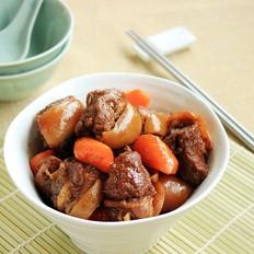 胡萝卜烧羊肉