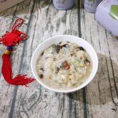 霸王超市#皮蛋鸡肉粥