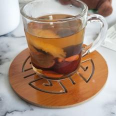 红枣枸杞菊花茶