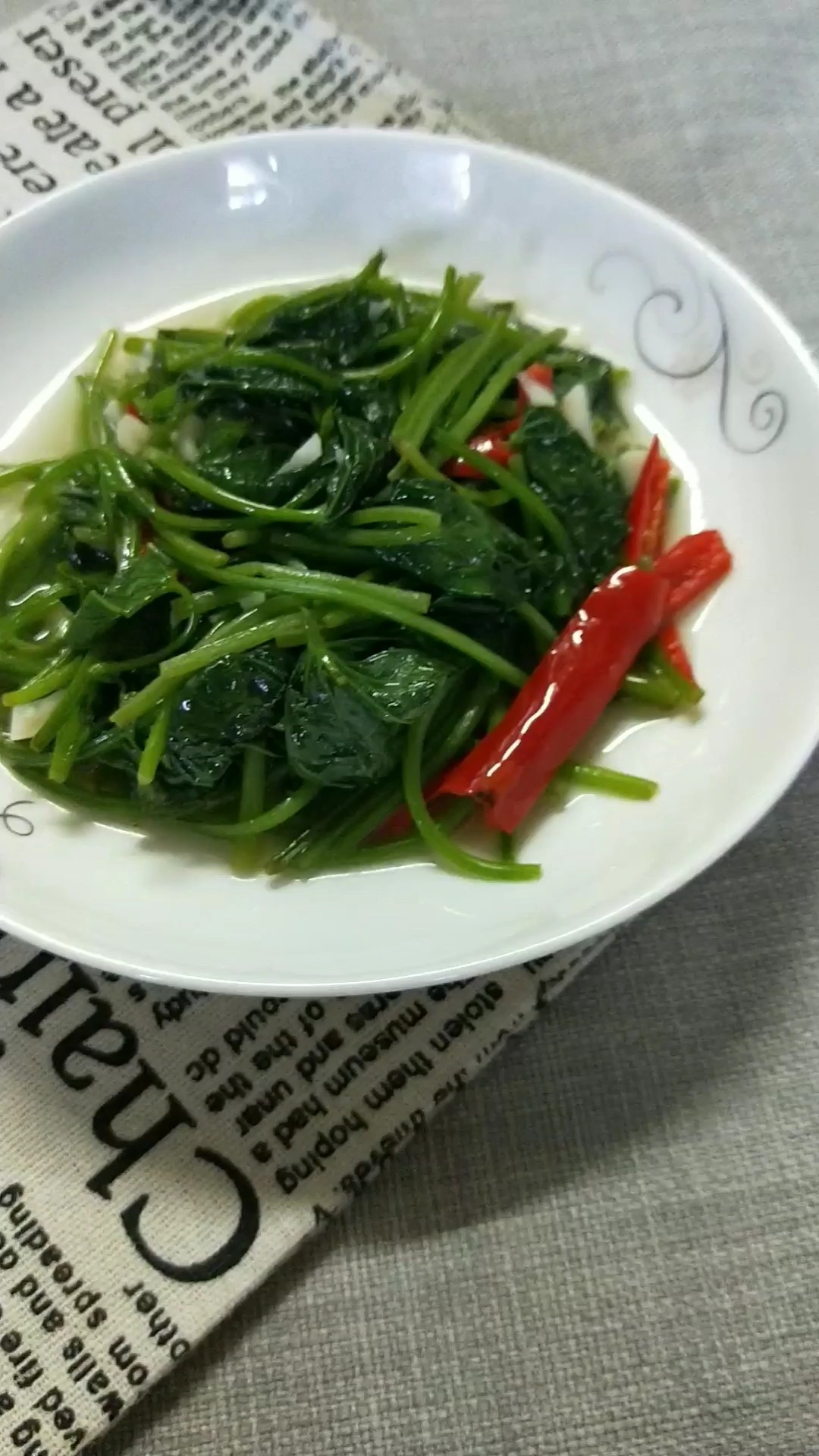 清炒皇后菜