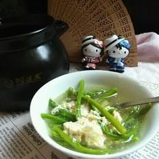 芦笋蛋花汤