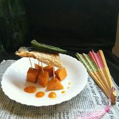 南瓜巴沙鱼片