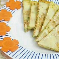 西兰花奶酪鲜虾饼