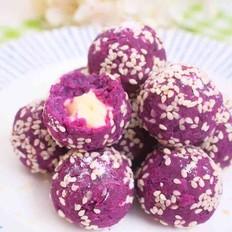 紫薯奶酪球-简单好吃又补钙的网红小甜点