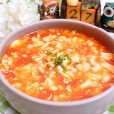鲜虾番茄豆腐羹-宝宝的开胃汤