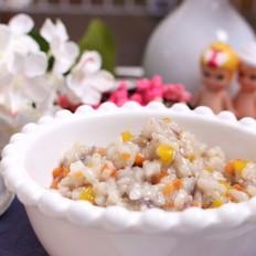 鳕鱼胡萝卜烩饭 宝宝健康食谱