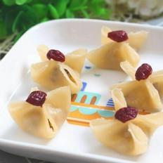 三文鱼面蒸饺  宝宝健康食谱