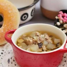 香菇萝卜炖牛腩  宝宝健康食谱