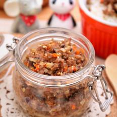 香菇牛肉酱  宝宝健康食谱