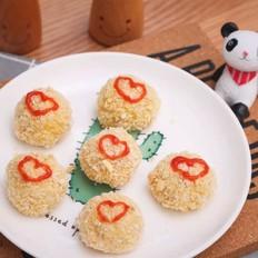 宝宝辅食食谱  非油炸鸡米花