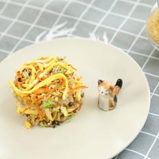 香菇胡萝卜粉丝小炒  宝宝辅食达人