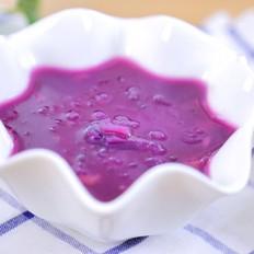 紫薯银耳甜汤 宝宝辅食食谱