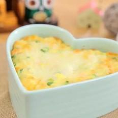 虾皮芝士焗豆腐 宝宝辅食食谱