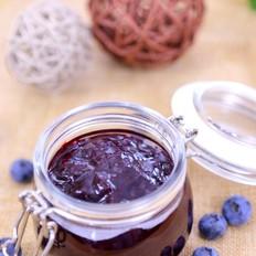 自制蓝莓酱 宝宝辅食食谱