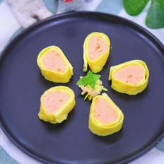 鲜虾蛋卷  宝宝辅食食谱