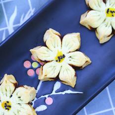 豆沙花瓣酥 宝宝辅食食谱