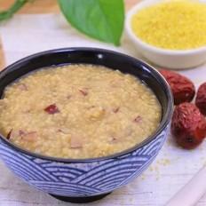 红糖红枣小米粥 宝宝辅食食谱