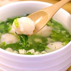 虾滑莴苣豆腐羹 宝宝辅食食谱
