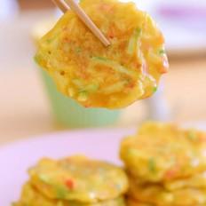 西葫芦苹果软饼  宝宝辅食食谱