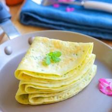 丝瓜蛋饼  宝宝辅食食谱