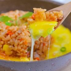 蛋浆火山炒饭  宝宝辅食食谱