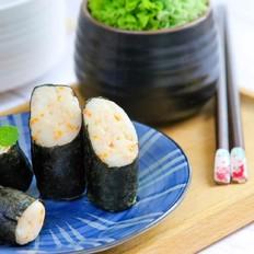 鲜虾海苔山药卷  宝宝辅食食谱