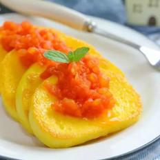 茄汁蛋皮馒头  宝宝辅食食谱