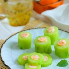 黄瓜酿虾仁  宝宝辅食食谱