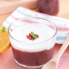 紫米酸奶杯  宝宝辅食食谱
