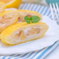 香蕉酸奶吐司饼  宝宝辅食食谱