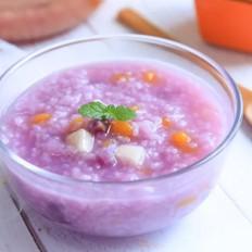 紫薯水果粥  宝宝辅食食谱