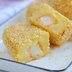 香煎土豆虾排  宝宝辅食食谱