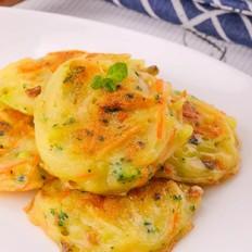 牡蛎土豆丝饼  宝宝辅食食谱