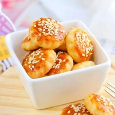 司康芝麻饼  宝宝辅食食谱