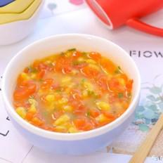 鲜味南瓜疙瘩汤  宝宝辅食食谱