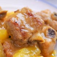菠萝咕噜排骨  宝宝辅食食谱