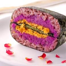 紫米肉松饭团  宝宝辅食食谱