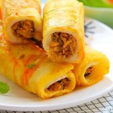 蔬菜吐司卷  宝宝辅食食谱