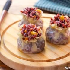 紫米烧麦  宝宝辅食食谱