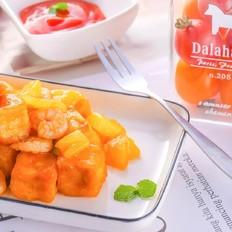 菠萝咕噜豆腐  宝宝辅食食谱