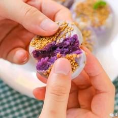 香软紫薯饼  宝宝辅食食谱