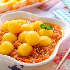土豆圆子  宝宝辅食食谱