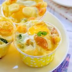 早餐鸡蛋杯  宝宝辅食食谱