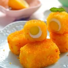 土豆虾仁小方  宝宝辅食食谱