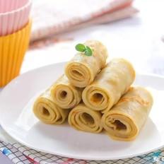 香蕉薄饼  宝宝辅食食谱