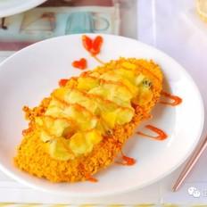 水果鸡肉披萨  宝宝辅食食谱