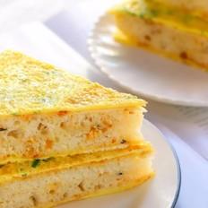 鸡蛋早餐饼  宝宝辅食食谱