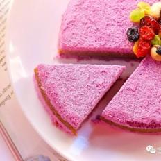 紫薯板栗松糕   宝宝辅食食谱