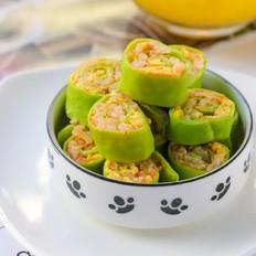 番茄米饭奶酪卷  宝宝辅食食谱