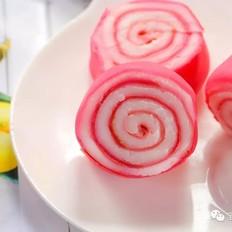 火龙果毛巾卷  宝宝辅食食谱